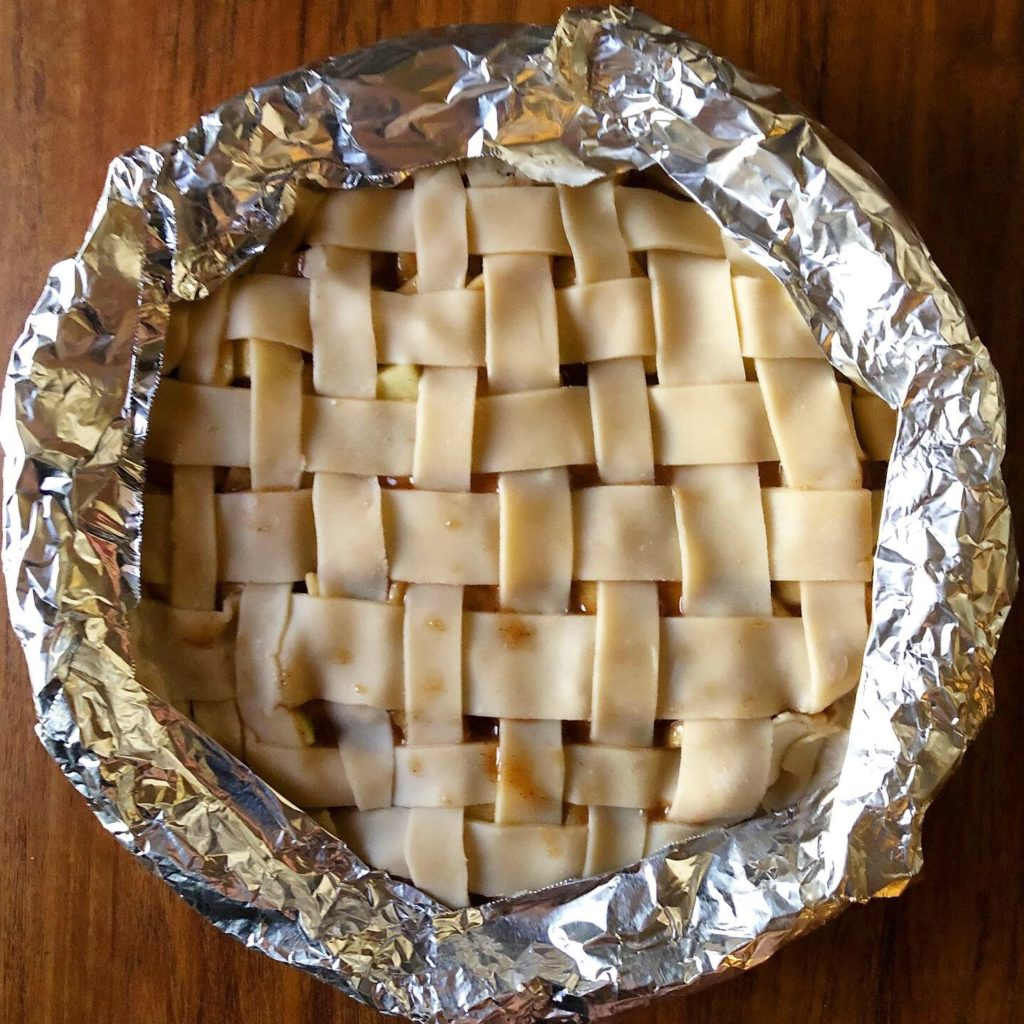 foil-covered-apple-pie