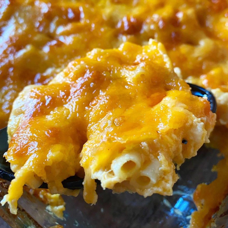 old fashioned baked mac and cheese